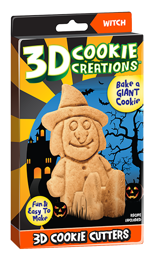 Halloween 3D Cookie Creation Witch