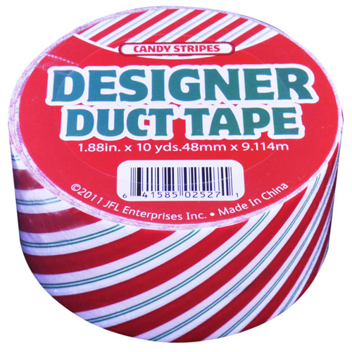 Designer Duct Tape Candy Stripes