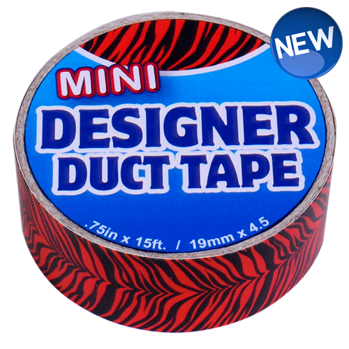 Mini Designer Duct Tape Tiger Stripes