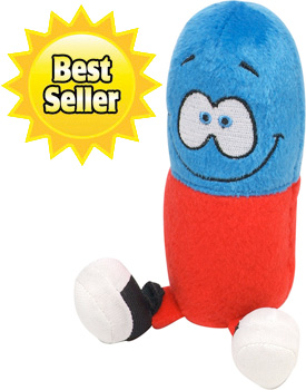 Happy Pills Stuffed Animal