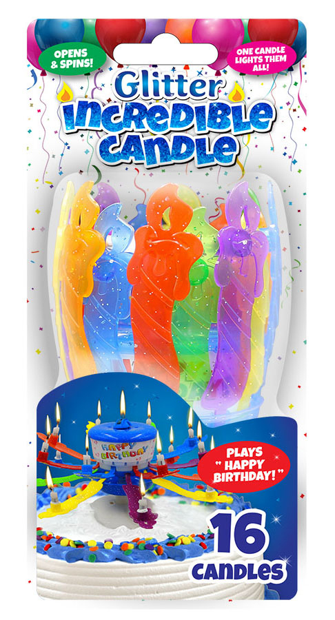 Incredible Candle Glitter